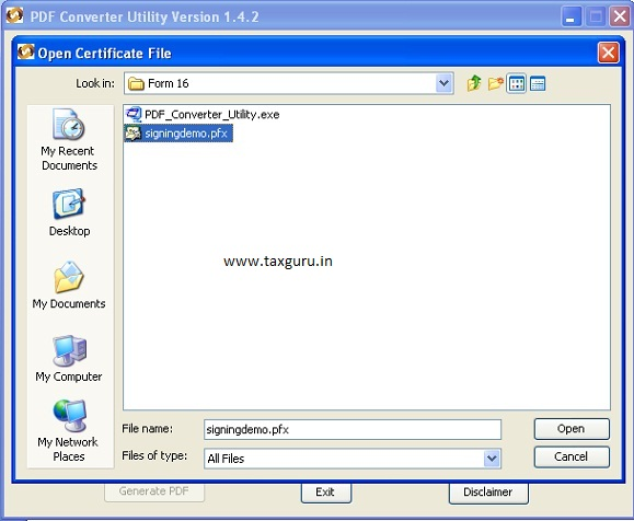 how to win zip pdf files