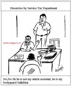 Service Tax Incident