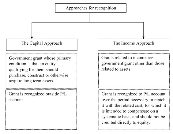 Government Grants -Approaches for recognition