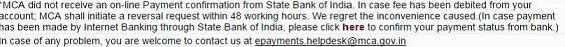 SBI Payment gateway Problem