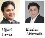 Bhishm Ahluwalia and Ujjwal Pawra