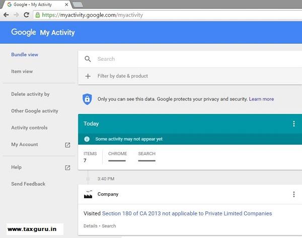 Google Activity 3