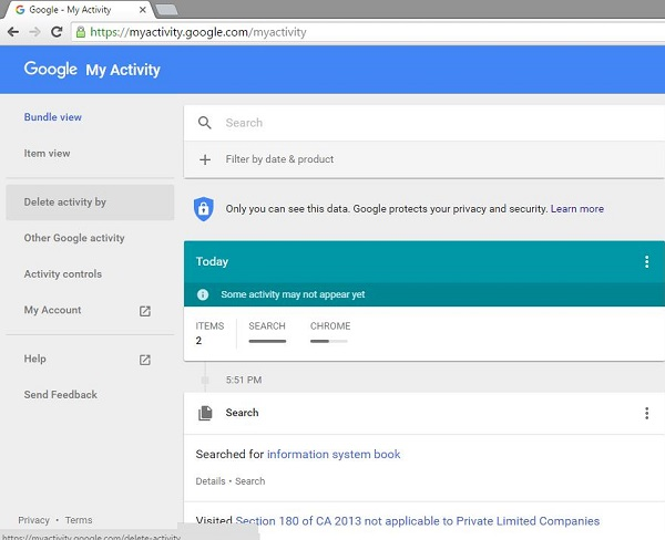 Google Activity 5