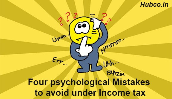 Income Tax Mistakes