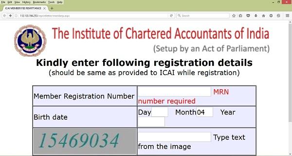 fees-status-icai-link