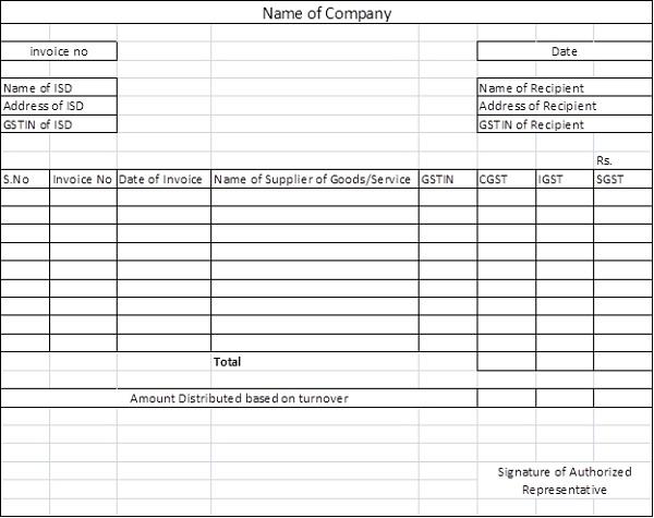 input-service-distribution-invoice