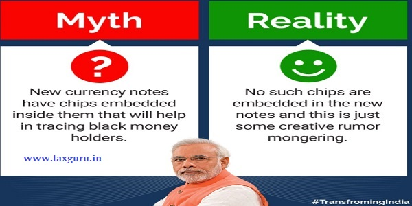 Demonetization Myths Busted - Myth 4