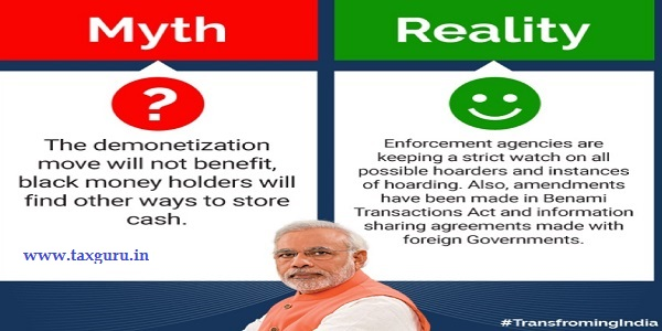 Demonetization Myths Busted - Myth 5