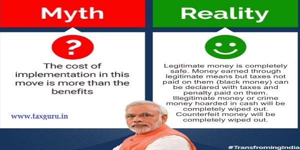 Demonetization Myths Busted - Myth 7