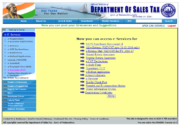 step-4-click-on-gstn-enrollment-provisional-id-or-e-return-only-vator-cst-for-fy-2016-to-17