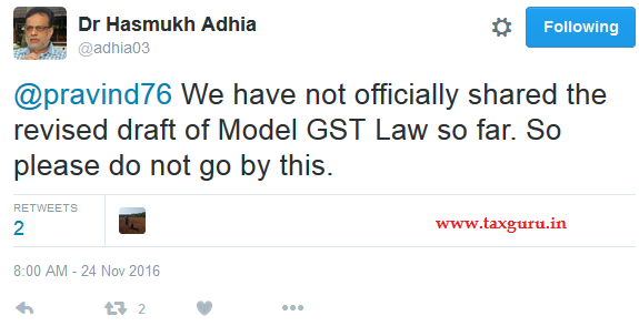 tweet-of-dr-hasmukh-adhia-on-gst-model-draft