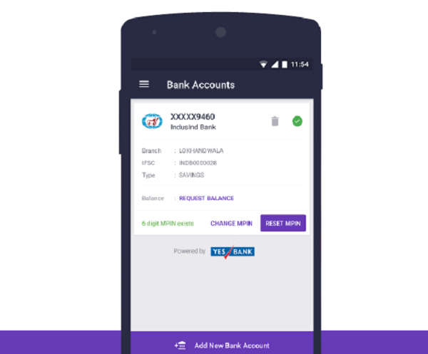 PhonePe (No need to exchange Bank details)
