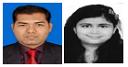 CMA.RAMLAKHAN AHIRWAR and POOJA SURYAWANSHI