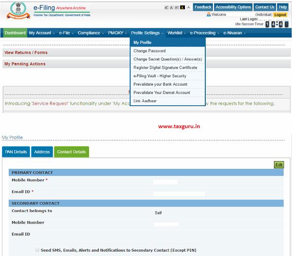 Online Cash Deposit Verification Steps 1