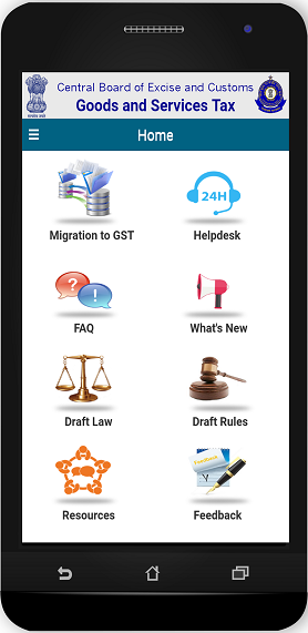 Goods and Service Tax App