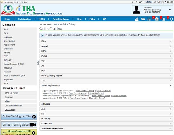 ITBA Portal