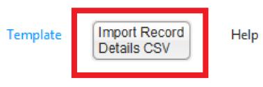 Import Record Details CSV