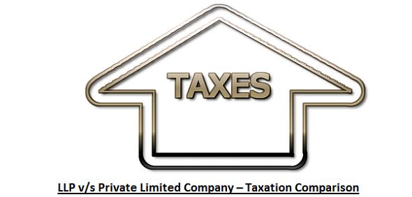 LLP vs. Private Limited Company – Taxation Comparison