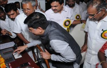 Piyush Goyal launching country's first solar boat at Vaikkom