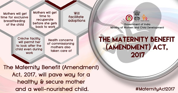 Maternity Benefit (Amendment) Act, 2017