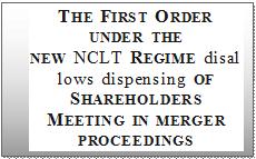 Dispense Of Shareholder Meeting Under Companies Act 2013
