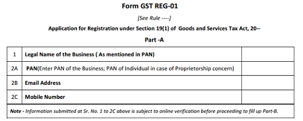 Form-GST-REG-01 Tax Id Number Application Form on how find your, how get, missouri sales, alabama state, application rules, find my, for business length, where's my, how get federal,