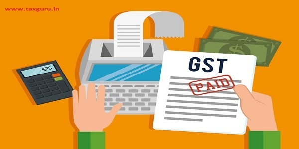 GST Payment time- GST Paid- Goods and Services Tax
