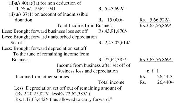 Net Profit as per P&L Part 2