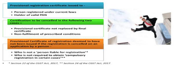 Provisional Registration