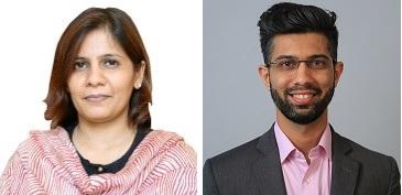 Rekha Bagry and Manjit Bhimajiani