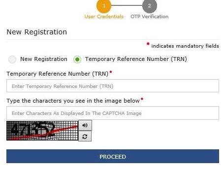 new registraion