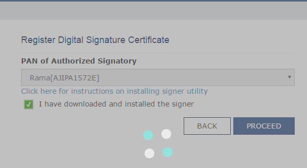 how to create digital signature for gst