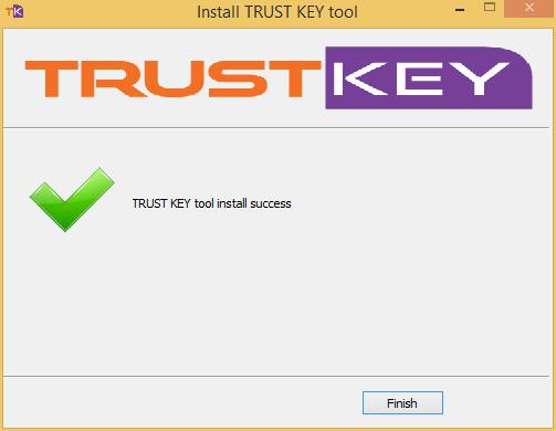 Install TRUST KEY Tool 2