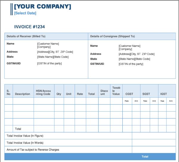 Invoice 123