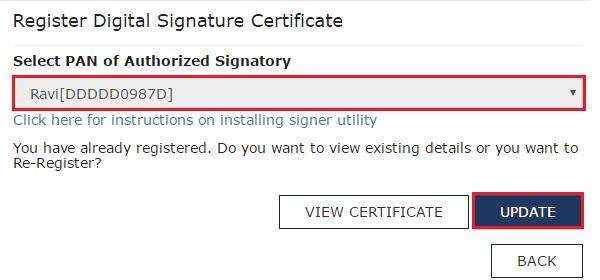 Register Digital Signature Certificate 2