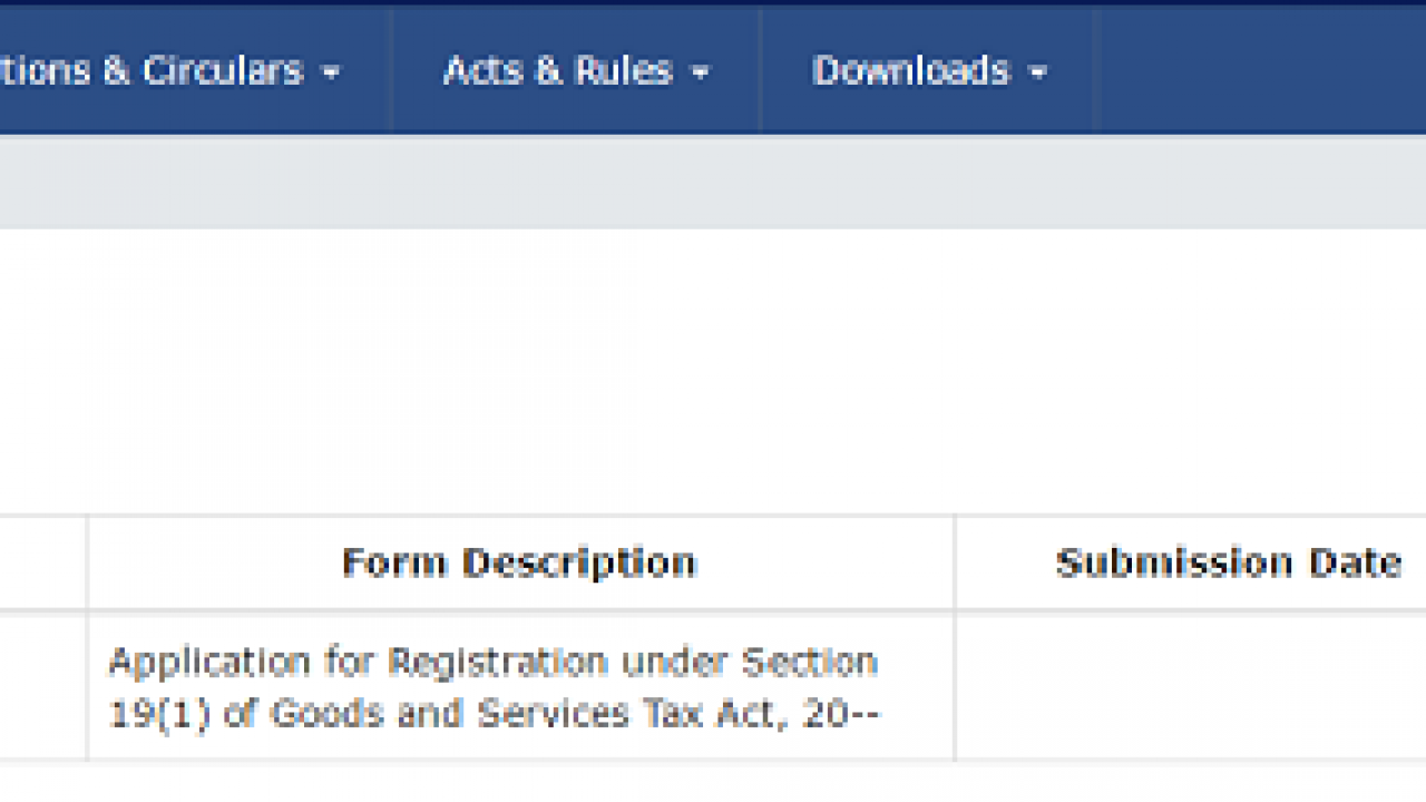 GST Registration Status | How to Track GST Application Status?