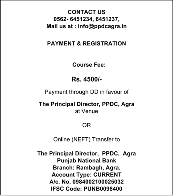 payment and Registration