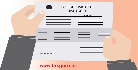 Debit Note In GST  Debit Note Issued By Supplier