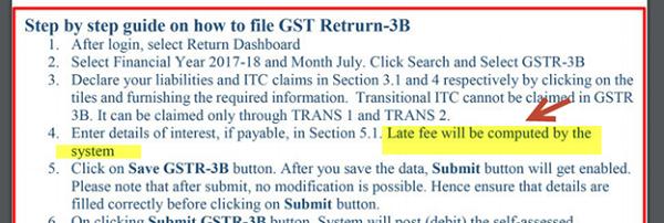 GST Returns 3B