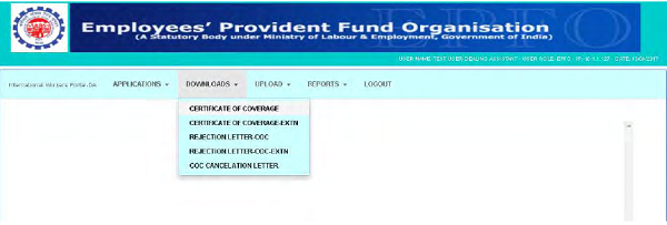Generation of Certificate of Coverage