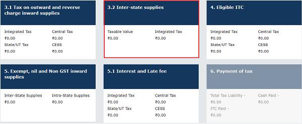 Inter-State supplies