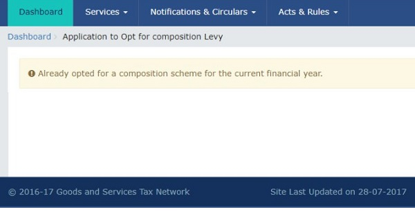 Not able to opt for composition scheme under GST for FY 2017-18? Image 9