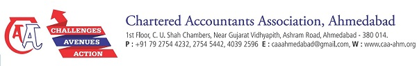 Chartered Accountants Association, Ahmedabad