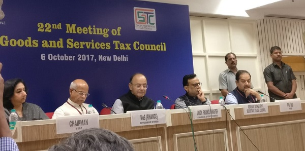 22nd GST Council Meeting