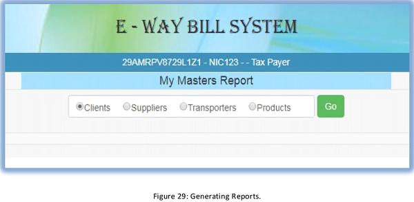 E way bill system user manual for taxpayers in karnataka figure 29 spiritdancerdesigns Gallery