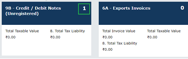Gstr 1 How To Create Submit Outward Supplies Return With