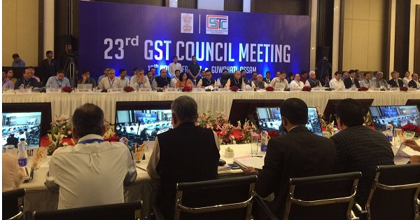 23rd meeting of the GST Council