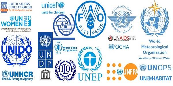 United Nations UN Agencies organisations