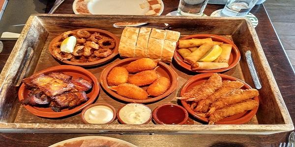 food dish mix fish restaurant volendam holland