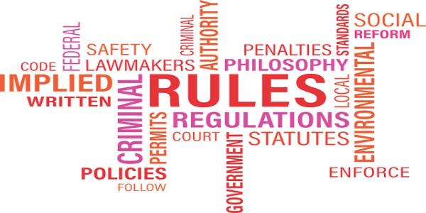 rules word cloud word cloud agency written Penalty